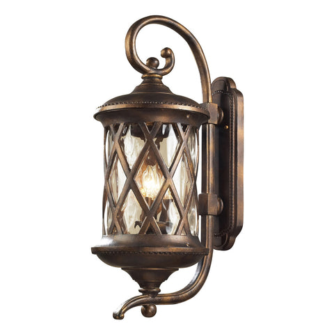 Barrington Gate 3-Light Outdoor Sconce in Hazelnut Bronze