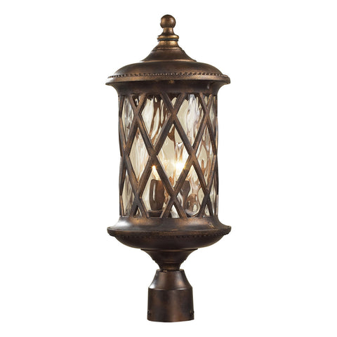 Barrington Gate 2-Light Post-Light in Hazelnut Bronze