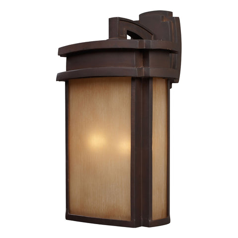Sedona 2-Light Clay Bronze Sconce