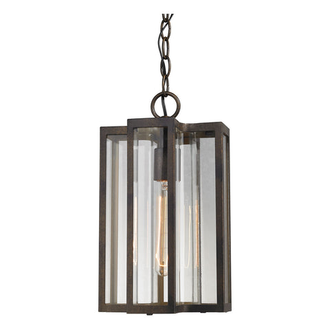 Bianca 1-Light Outdoor Pendant in Hazelnut Bronze