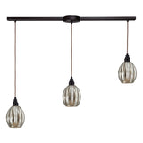 Danica Linear 3-Light Pendant