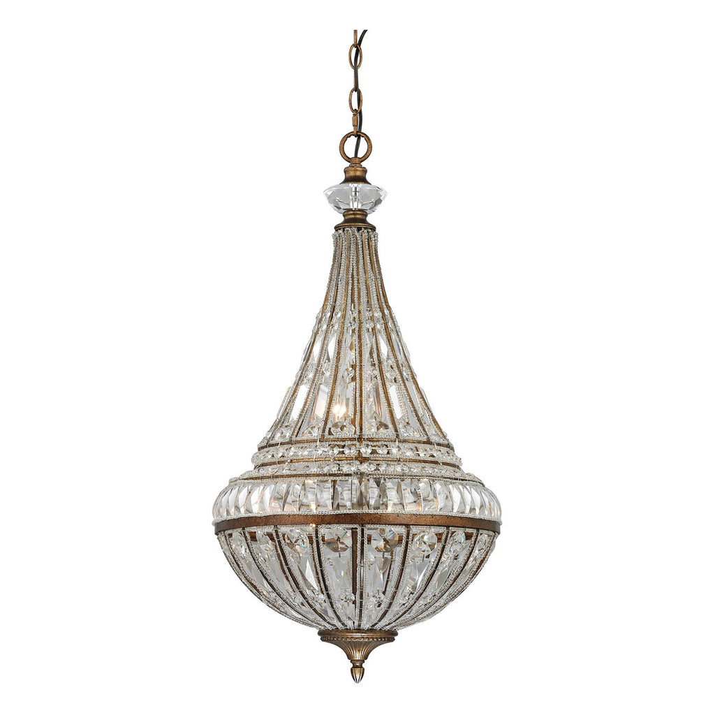 Empire 6-Light Pendant in Mocha