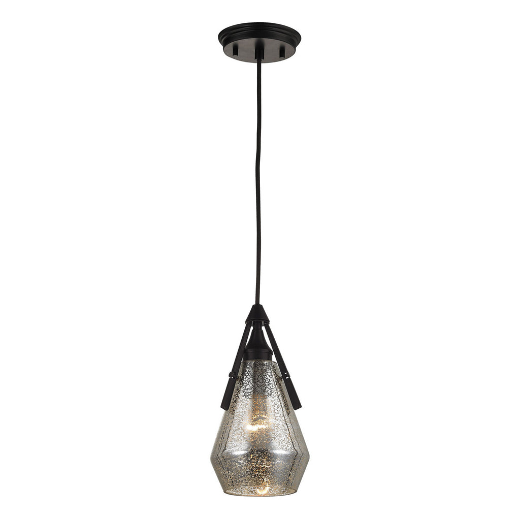 Duncan 1-Light Pendant in Oil Rubbed Bronze
