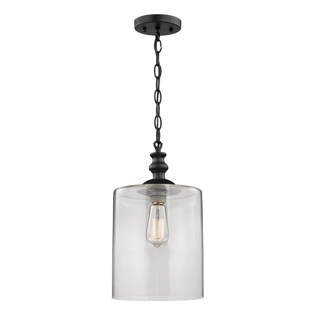 Bergen 1-Light Pendant with Oil Rubbed Bronze