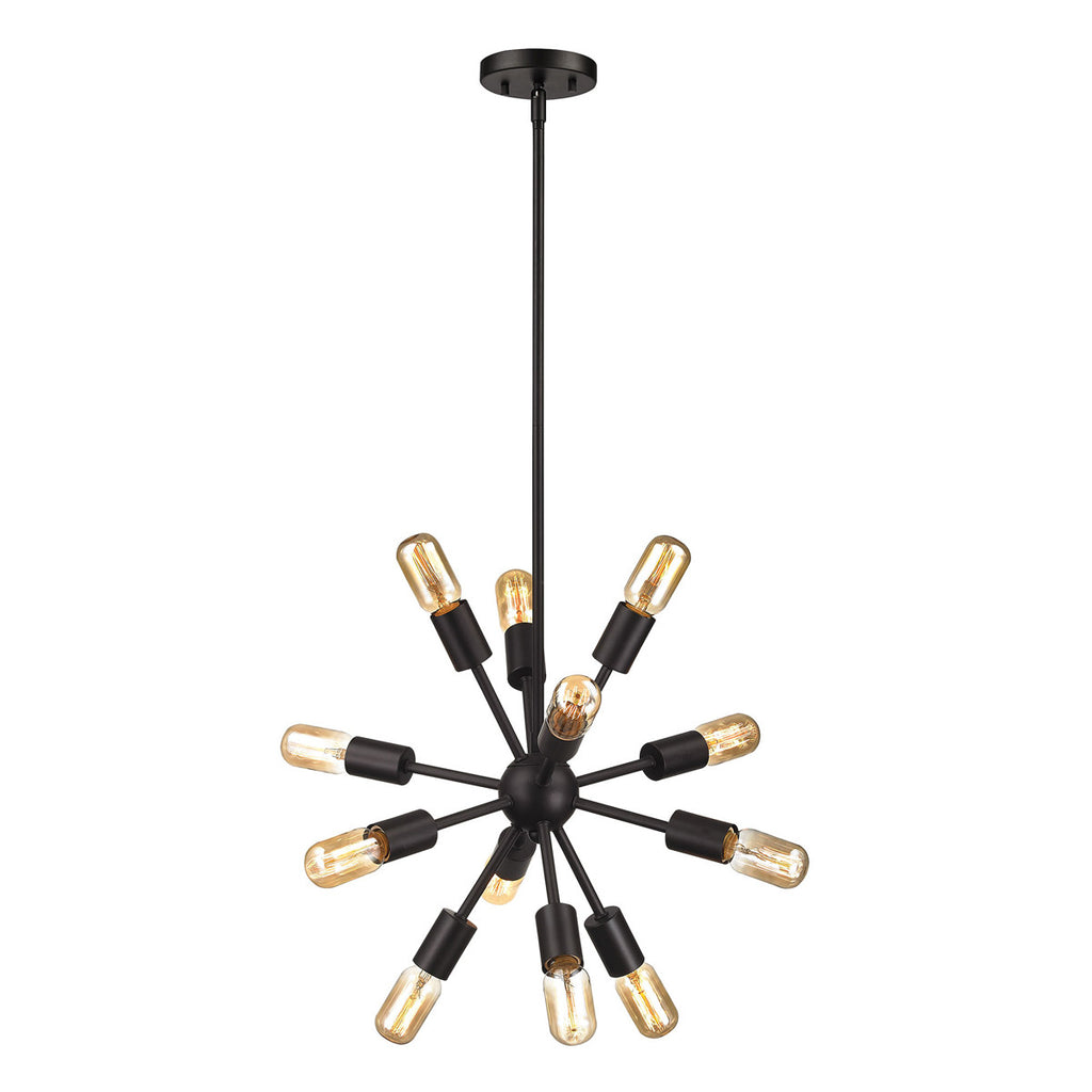 Delphine 12-Light Chandelier in Oil Rubbed Bronze