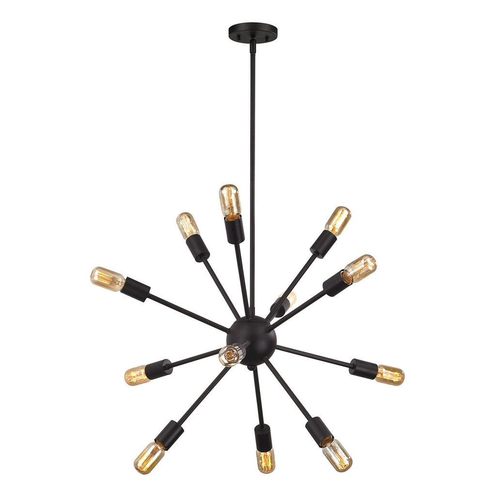 Delphine 12-Light Chandelier with Oil Rubbed Bronze
