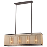 Diffusion 4-Light Oil Rubbed Bronze Chandelier