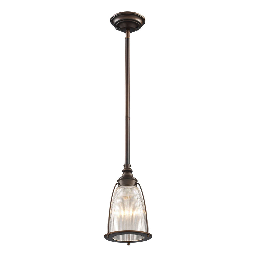 Halophane 1-Light Pendant Lighting