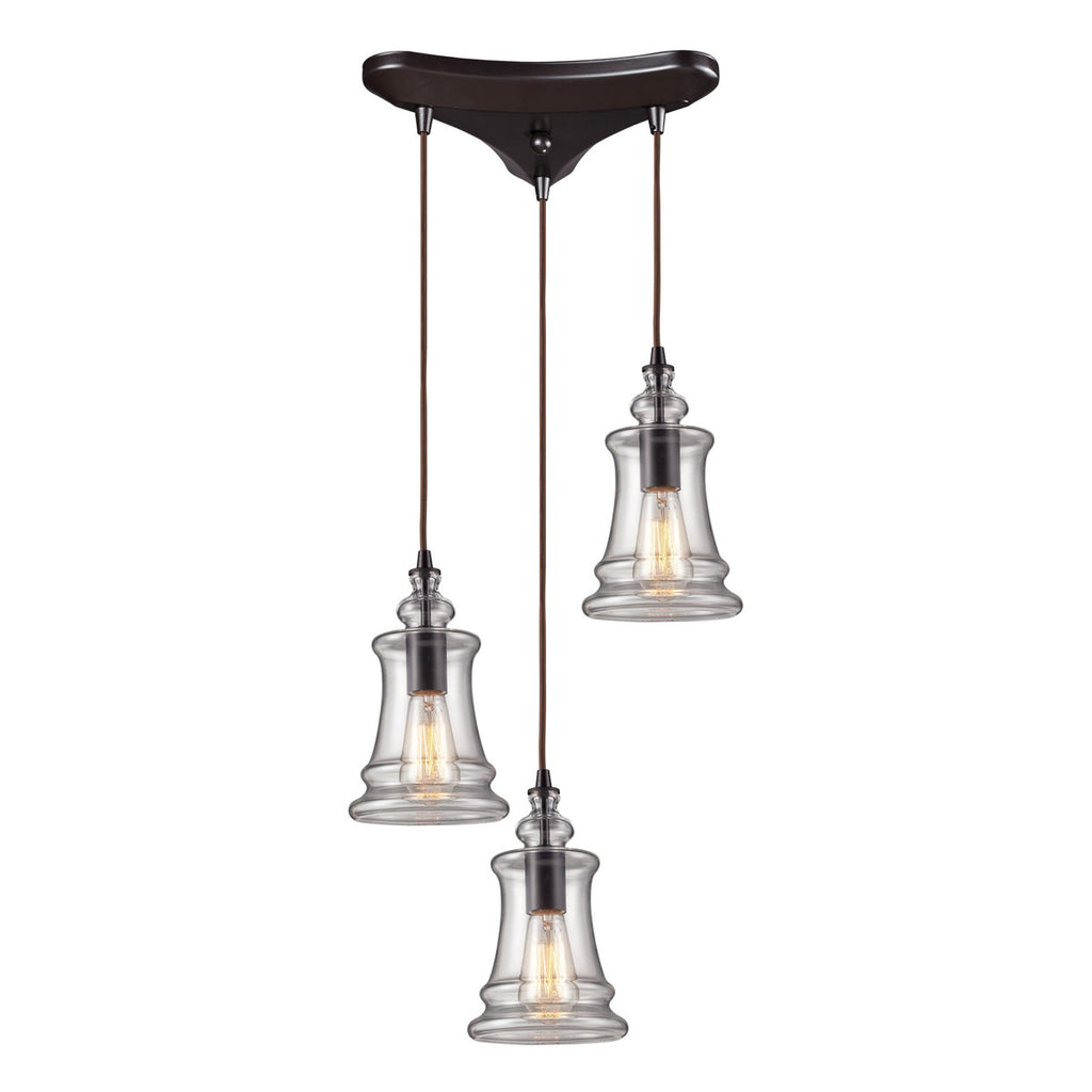 Menlow Park 3-Light Pendant