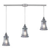 Menlow Park Linear 3-Light Pendant