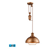Farmhouse Bellwether Copper Pendant