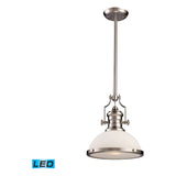 Chadwick 1-Light Pendant in Satin Nickel