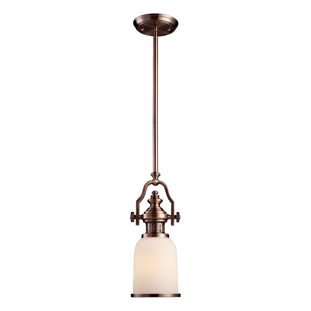 Chadwick 1-Light Pendant in Antique Copper