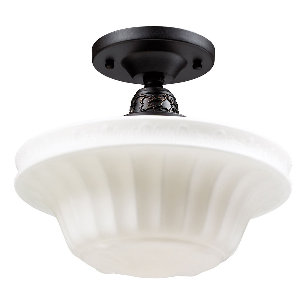 Quinton Parlor 1-Light Semi-Flush