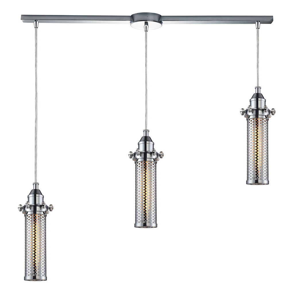Fulton-Light Pendant with Polished Chrome