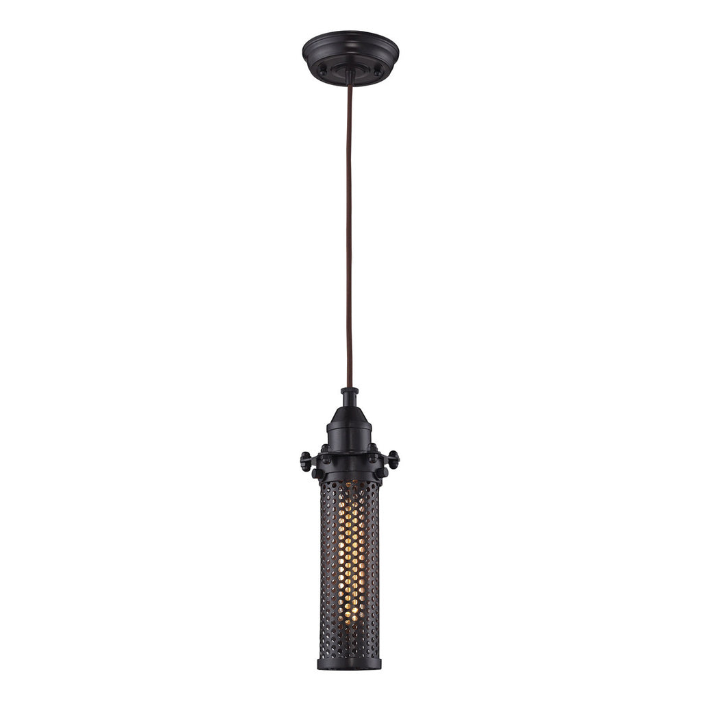 Fulton 1-Light Pendant in Oil Rubbed Bronze