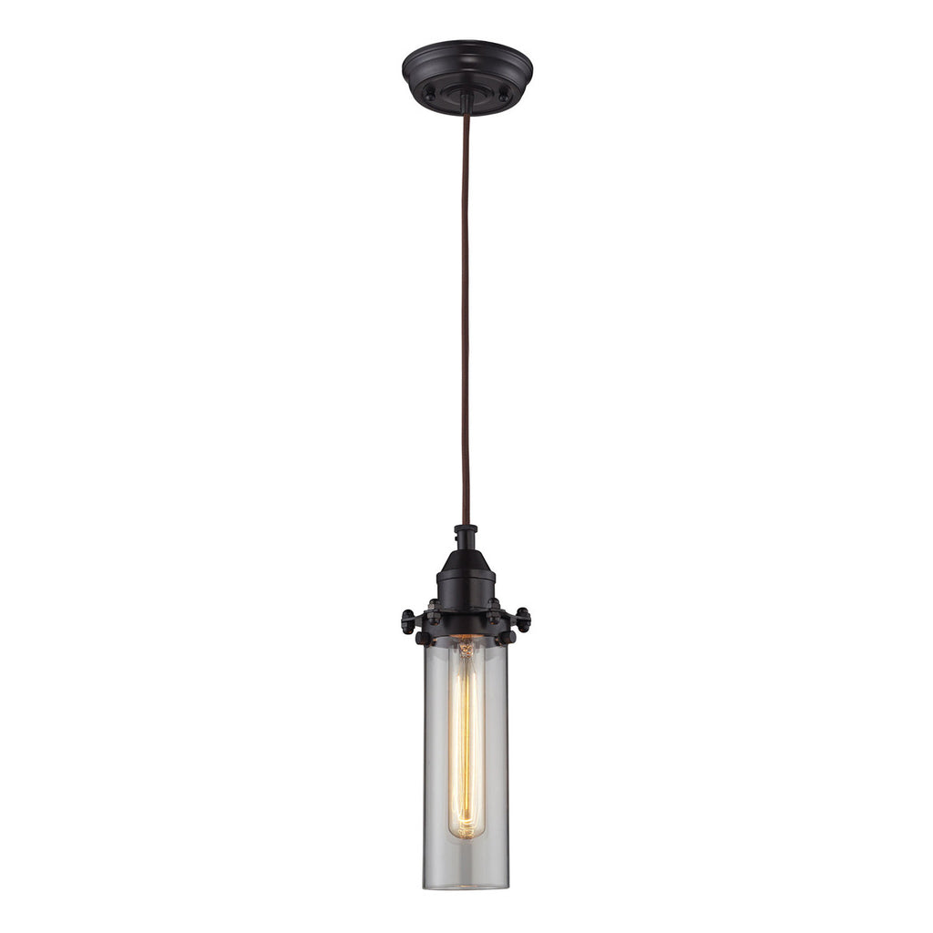 Fulton 1-Light Pendant with Oil Rubbed Bronze