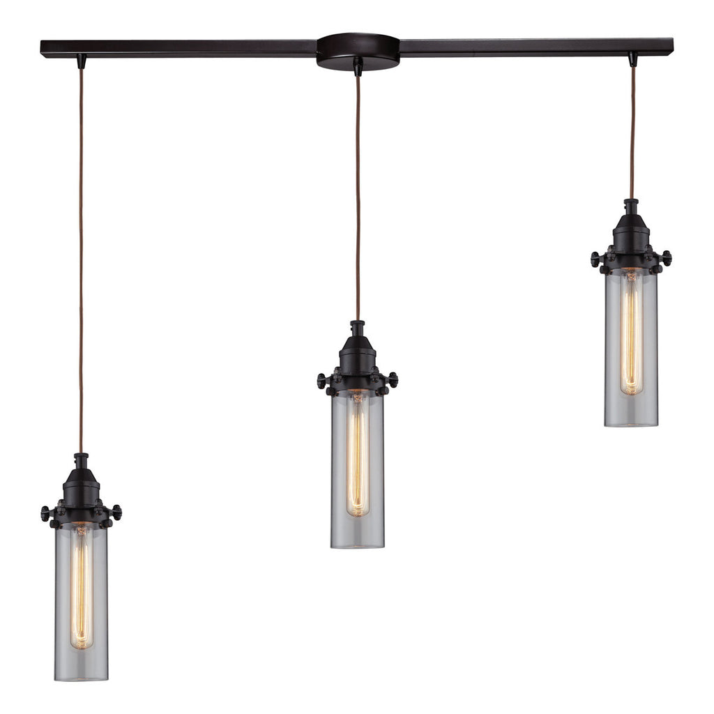 Fulton 3-Light Pendant in Oil Rubbed Bronze