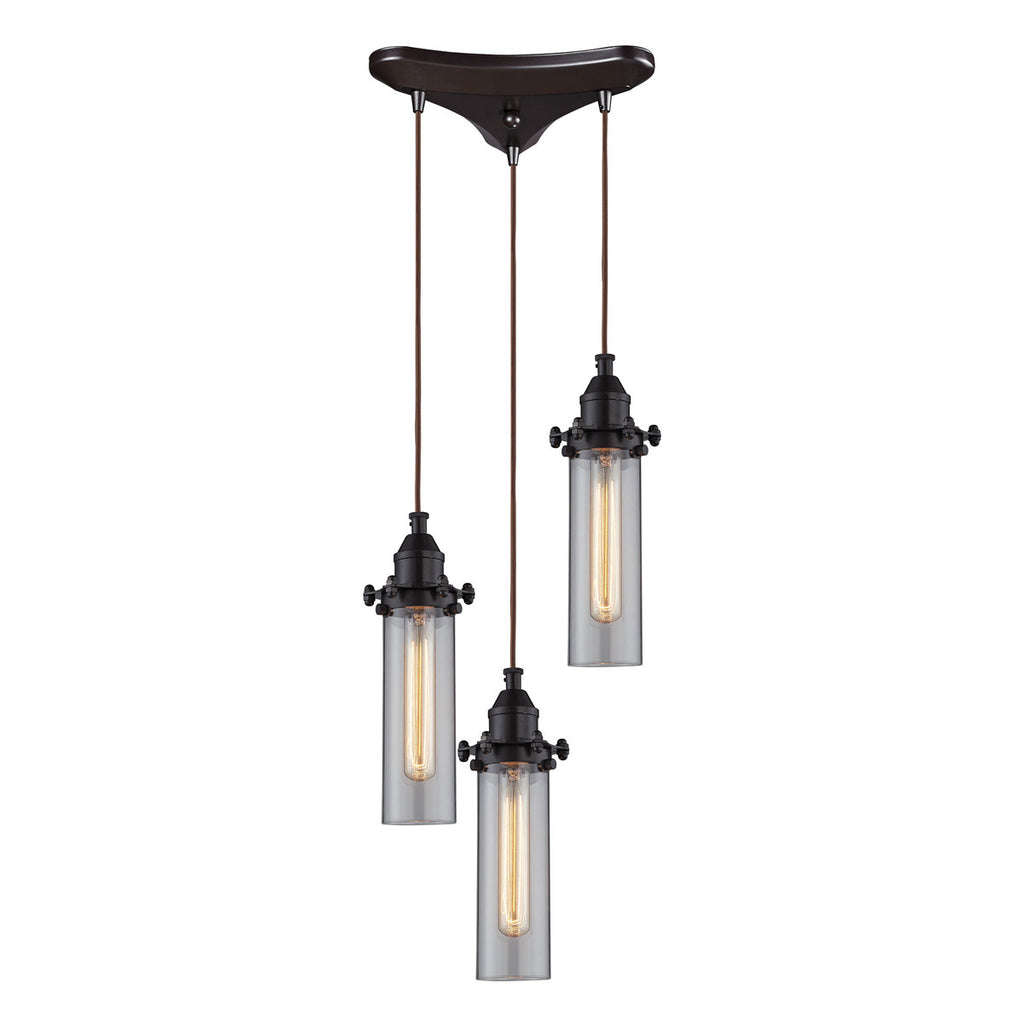 Fulton 3 Lighting Pendant in Oil Rubbed Bronze