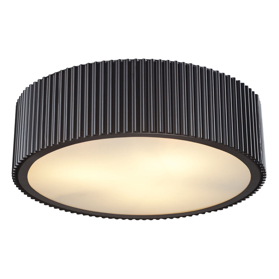 Brendon 3-Light Flushmount in Oil Rubbed Bronze