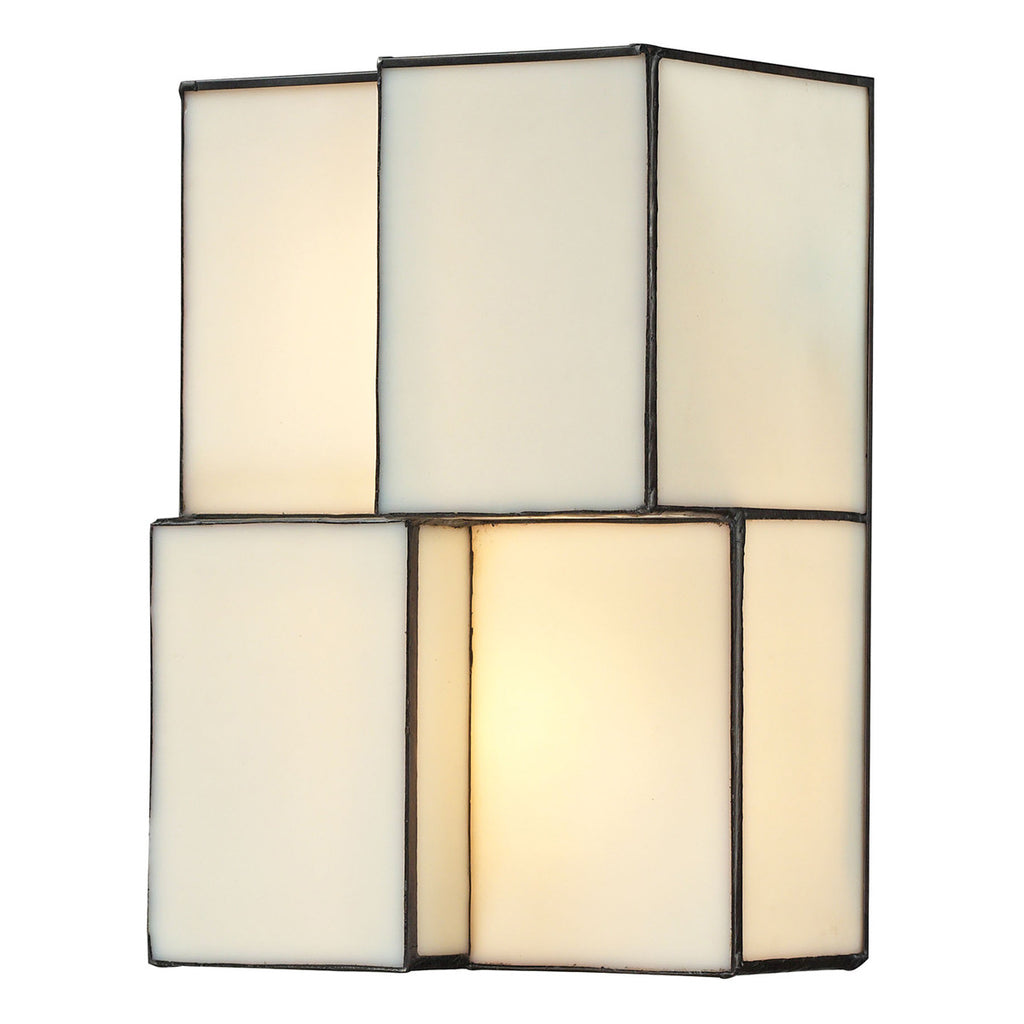 Cubist Collection 2-Light Sconce in Brushed Nickel