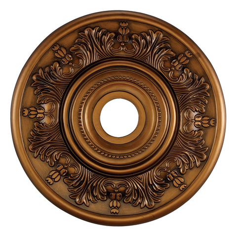 "Laureldale Medallion 21"" in Antique Bronze"