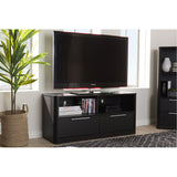 Baxton Studio Carlingford 2-Drawer TV Stand