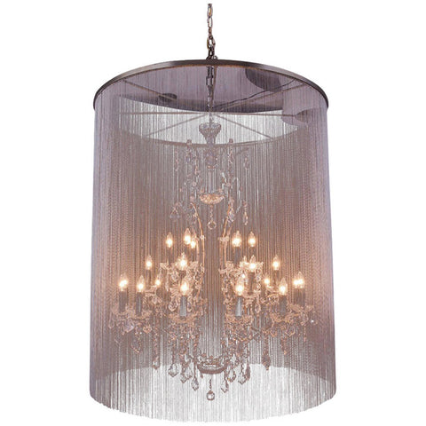 Brooklyn Mocha Brown Pendant Lamp