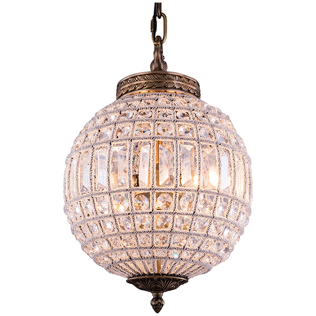 Olivia French Gold Pendant Lamp