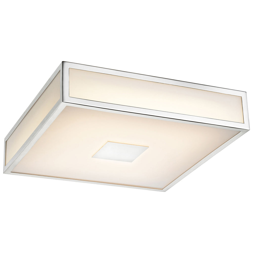 Hampstead 1-Light LED Flush Mount in Chrome