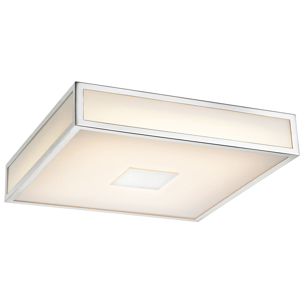 Hampstead 1-Light LED Chrome Flush Mount
