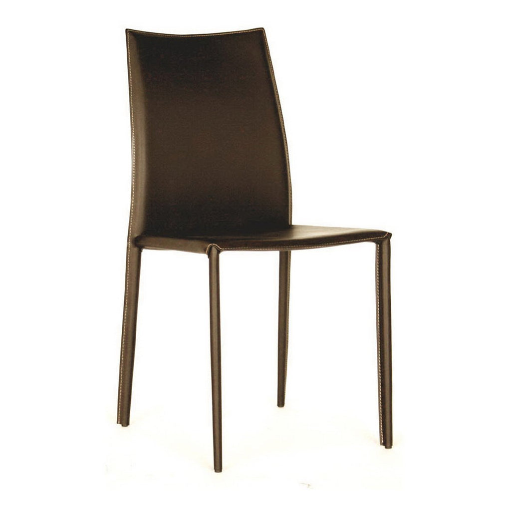 Rockford Leather Dining Chair, Set of 2