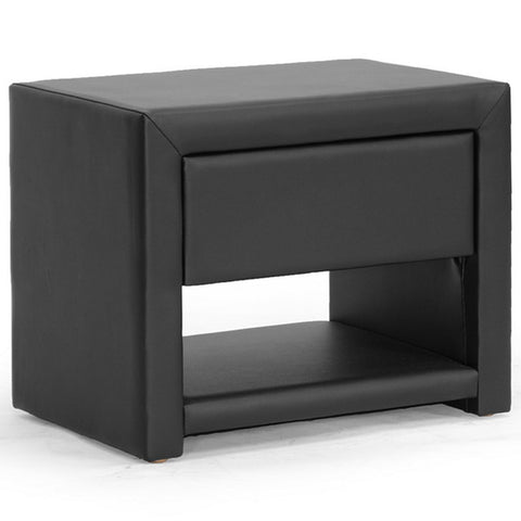 Massey Upholstered Modern Nightstand
