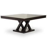 Everdon Dark Brown Modern Coffee Table