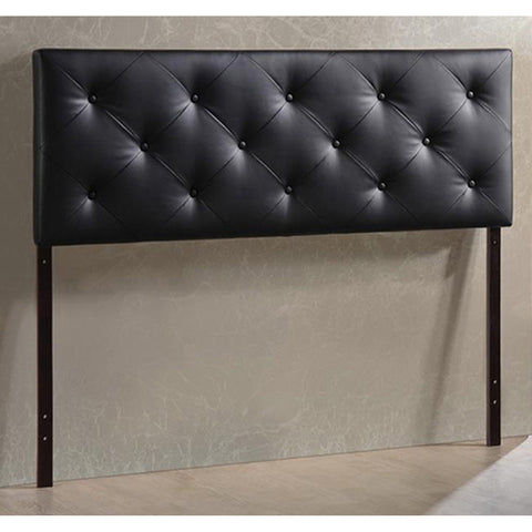 Baxton Studio Bedford Black Headboard