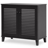 Coolidge Espresso Shoe, Storage Cabinet