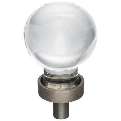 "1-1/16"" Diameter Glass Sphere Cabinet Knob"