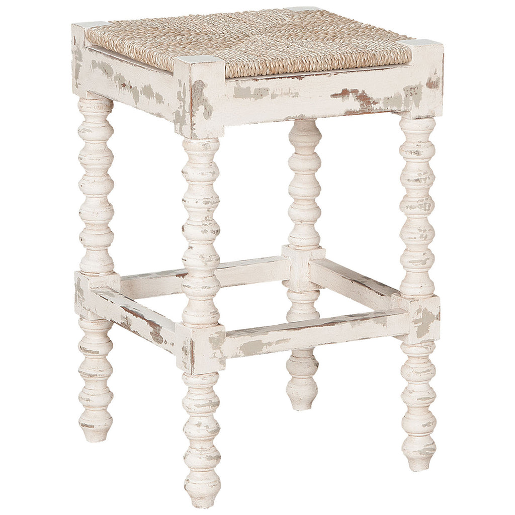 Crossroads Counter Stool in Crossroads European White