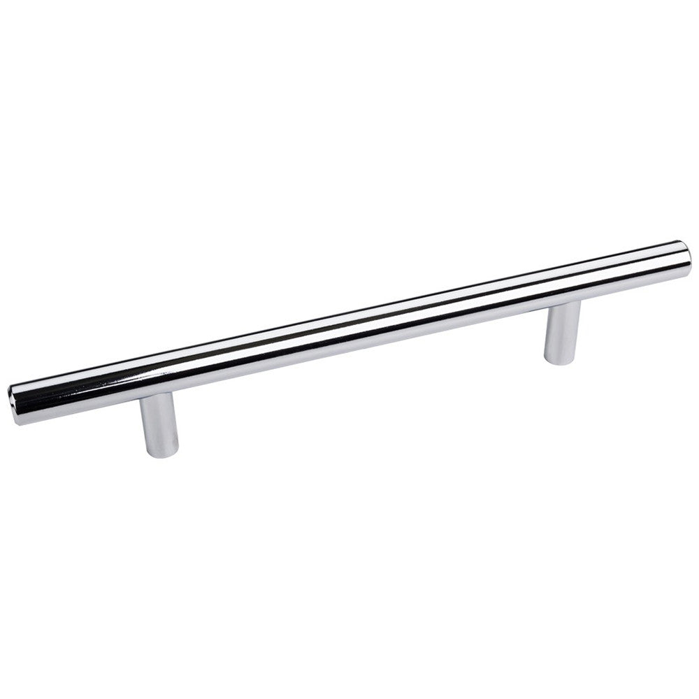 "Elements Naples 22-1/16"" Overall Length Bar Cabinet Pull with Beveled Ends"