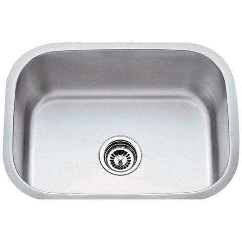 18 Gauge Stainless Steel Undermount Utility Sink
