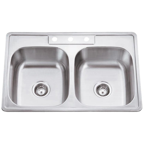 20 Gauge Stainless Steel Drop in Sink