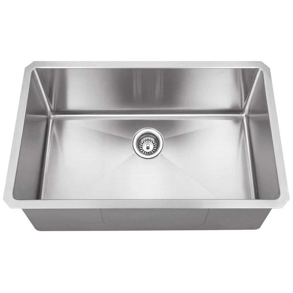 16 Gauge Stainless Steel Fabricated Kitchen Sink