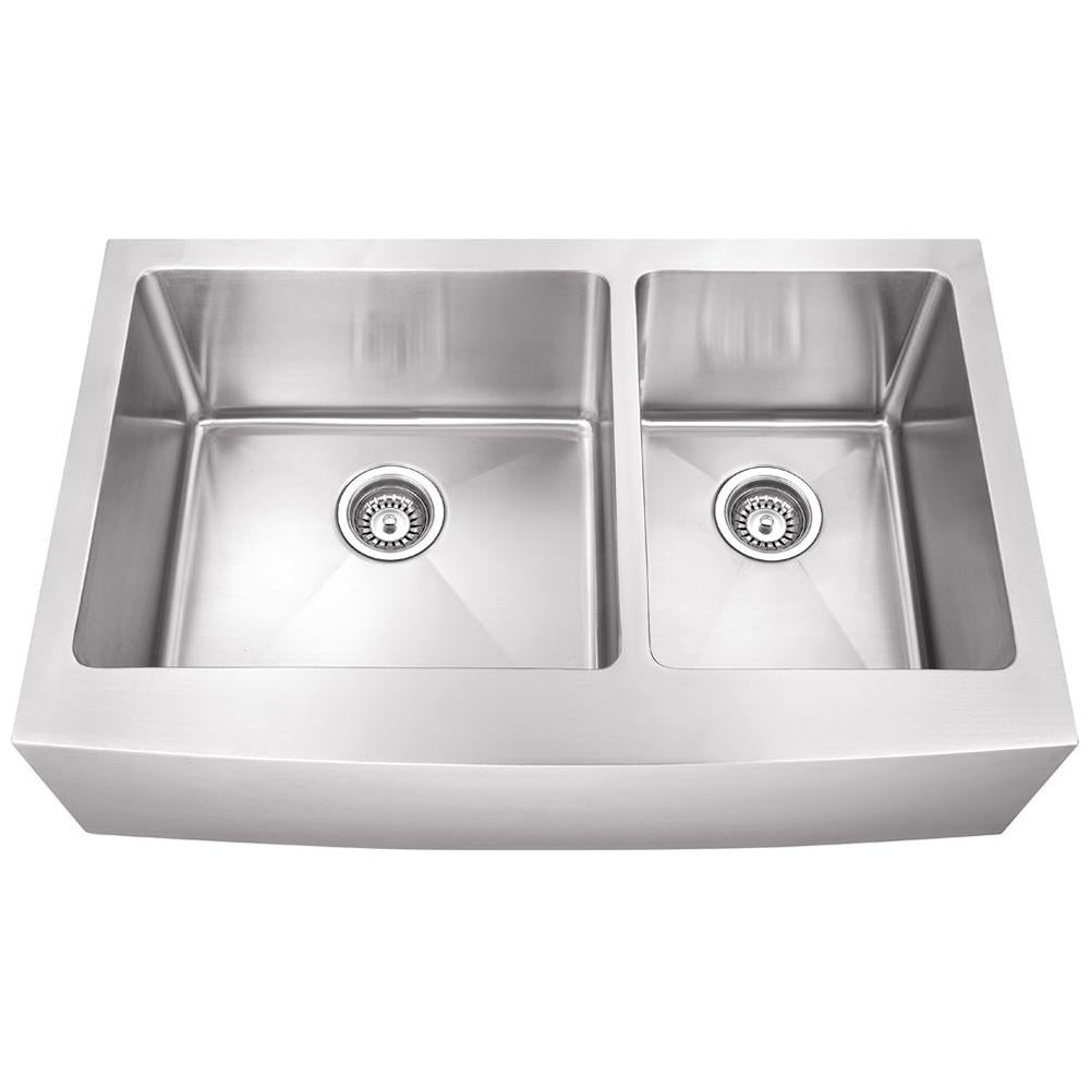 16 Gauge Stainless Steel Fabricated Farmhouse Kitchen Sink
