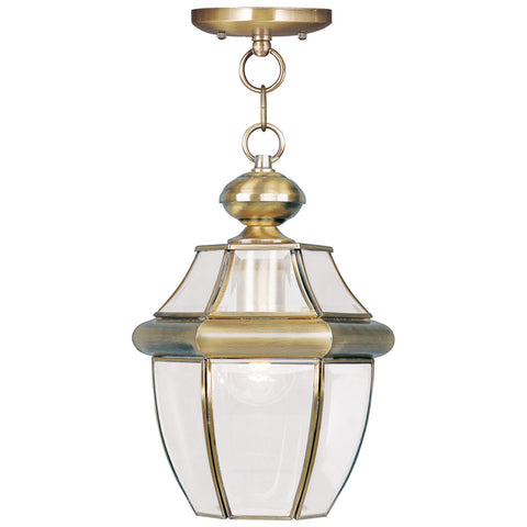 Monterey 1-Light Outdoor Chain Lantern