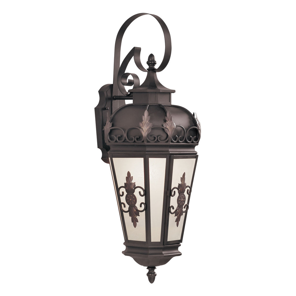 Berkshire 1-Light Bronze Outdoor Wall Lantern