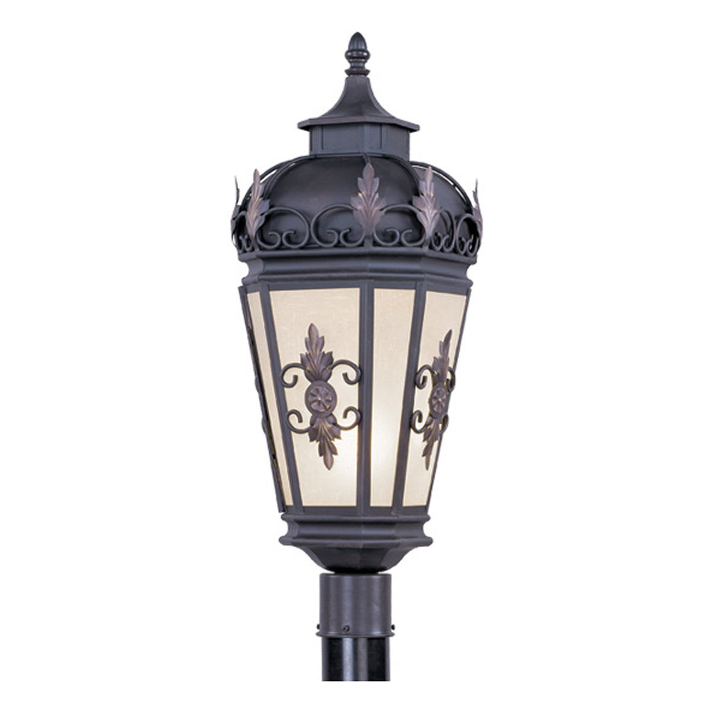 Berkshire 1-Light Bronze Outdoor Post Head