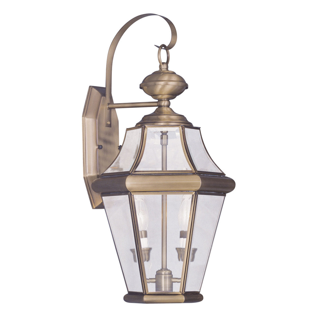 Georgetown 2-Light Outdoor Wall Lantern