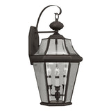 Georgetown 3-Light Outdoor Wall Lantern