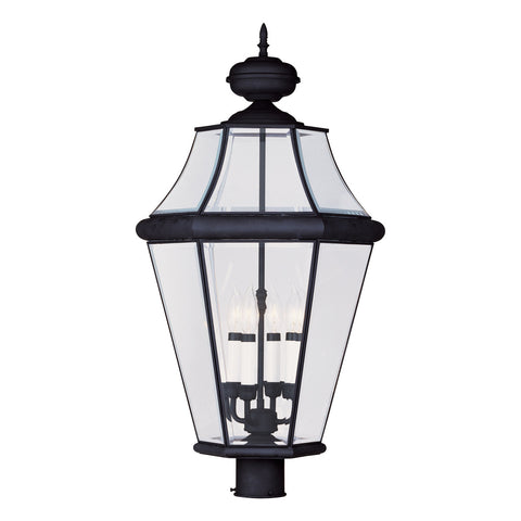 Georgetown 4-Light Outdoor Post Head