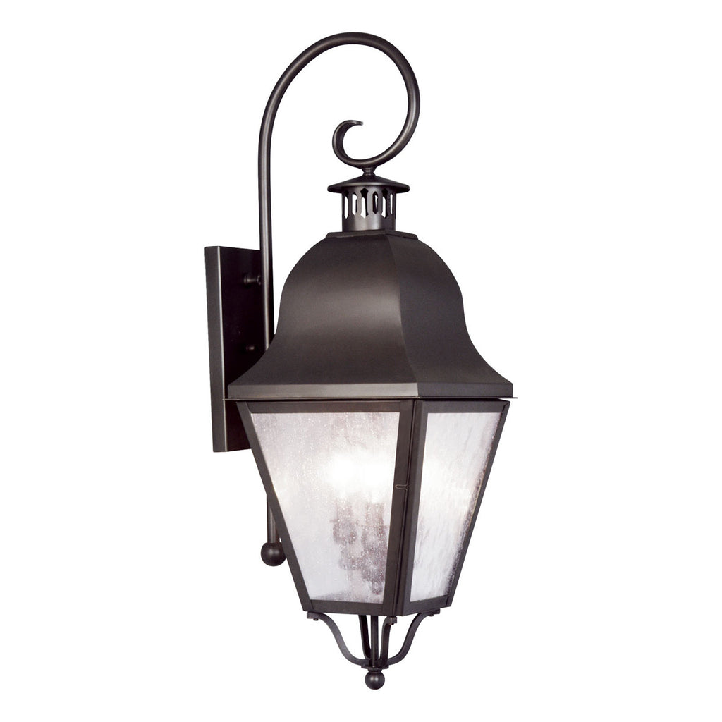 Amwell 3-Light Outdoor Wall Lantern